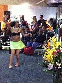 Hawaiian dancer