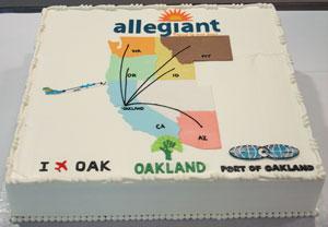 allegiant airlines cake