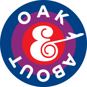 OAK & About logo